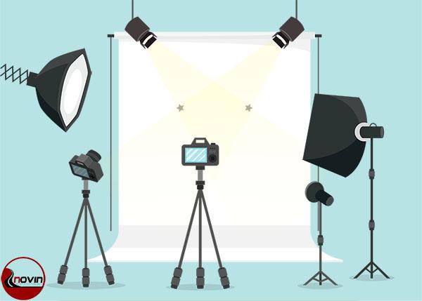 تجهیزات نوری عکاسی صنعتی